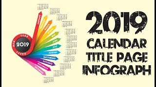 Calendar - Title Page - Infograph - Design Frist Time In Coreldraw X7