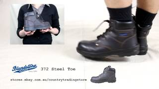 preview picture of video 'Blundstone 372 Steel Toe Lace Up Safety Boot'