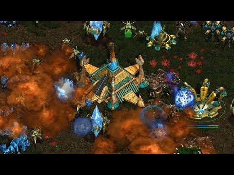 Dear (P) v Jaedong (Z) on  Aztec 1.1 - StarCraft  - Brood War REMASTERED
