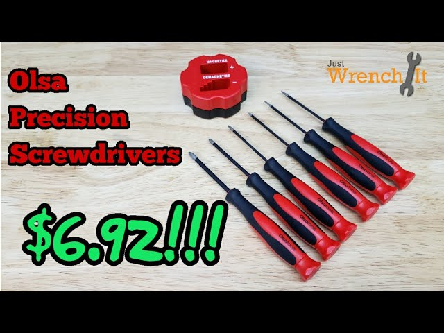 Youtube Video for 6 Pc Precision Screwdriver Set by Just Wrench It