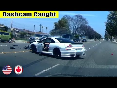 Ultimate North American Cars Driving Fails Compilation - [Dash Cam Caught Video]