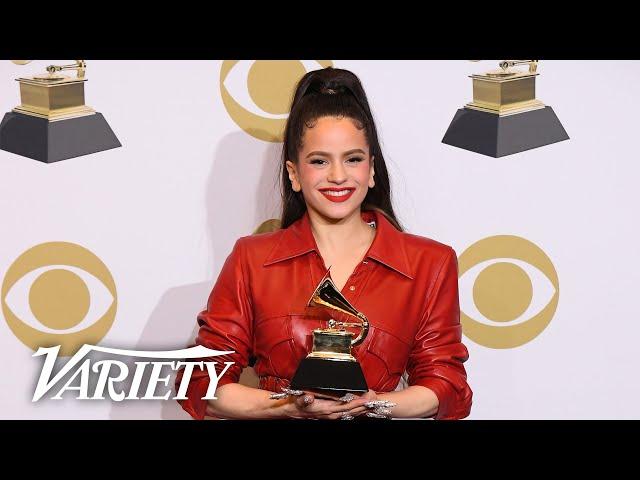Rosalía Wins Best Latin Album - Full Backstage Grammys Interview