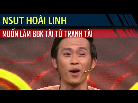 NSUT Hoài Linh muốn làm giám khảo Tài Tử Tranh Tài 'năm này leo qua năm khác'