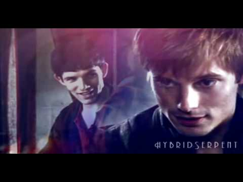 Merlin/Arthur - If you'll stay in my past.