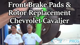 Brake Pads and Rotor Replacement - Front