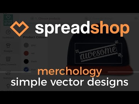 Thumbnail - How to Create Vector Designs for your Spreadshop
