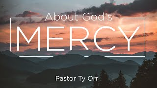 About God's Mercy