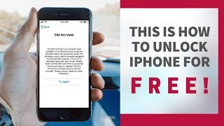 This is the easiest way to unlock any iPhone from Carrier FREE (Sprint, Tmobile, Verizon, AT&T etc.)