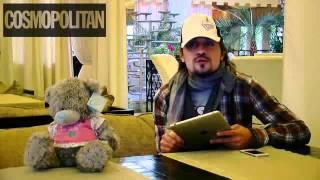 Дима Билан ответил на вопросы победительницы конкурса Возьми интервью у Димы Билана