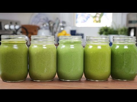 Video 5 Green Smoothie Recipes