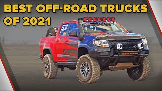 The Best Off Road Trucks of 2021 - The Short List