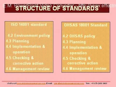 OHSAS 18001:2007 Auditor Training - YouTube