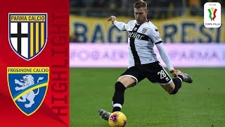 Parma 2-1 Frosinone   Late Penalty Sees Parma Edge Serie B Frosinone   Serie A