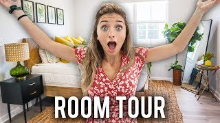 Brooklyn's NEW College ROOM TOUR! | Zippered Bedding, Decor, and MORE!