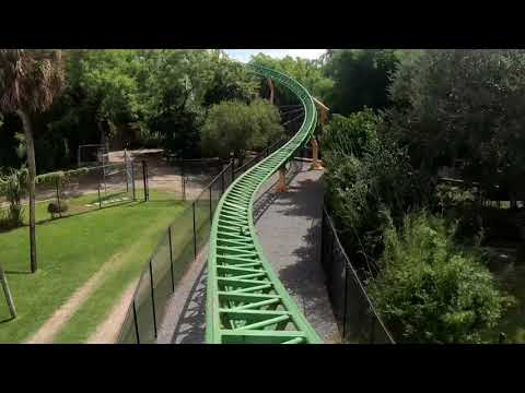 4k Cheetah Hunt Front Row Point Of View Busch Gardens Tampa Bay Florida