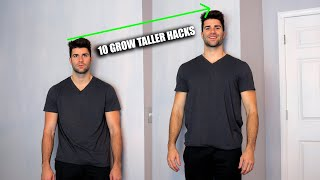 How to Grow Height FAST - 10 Hacks To Get Taller ASAP