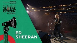 "Ed Sheeran performs ""Bloodstream"" 