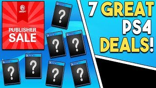 7 GREAT Playstation 4 Game Deals RIGHT NOW! - Physical + Digital PS4 Deals!