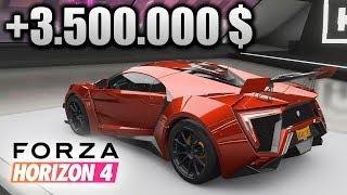 Me gasto +3.500.000 $ en el Lykan Hypersport! +Broma final a mi padre | Forza Horizon 4 | BraxXter