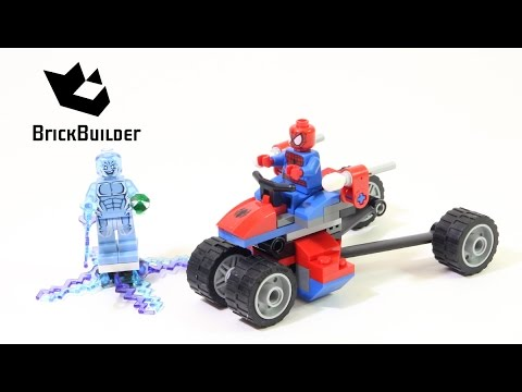 Vidéo LEGO Marvel 76014 : Spider-Trike contre Electro