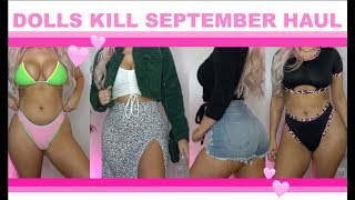 🖤💕EARLY FALL DOLLS KILL HAUL 🍂