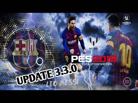 NO ROOT) PES 2019 MOBILE VER  3 2 1 patch new menu mod pes 19 mobile