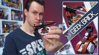 #GeekBrick LEGO самоделки CASTLE Баллиста и Катапульта (реальная стрельба)