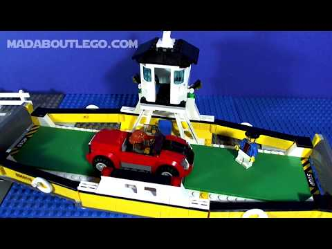 Vidéo LEGO City 60119 : Le ferry