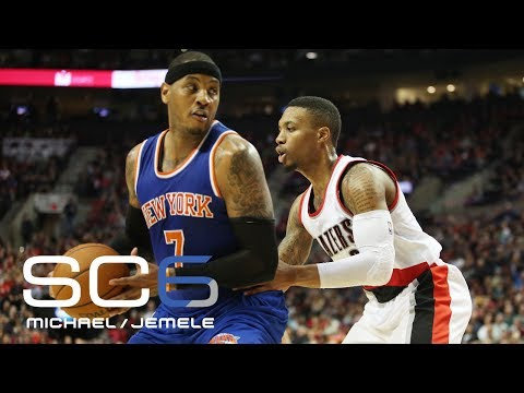 Would Carmelo Be A Good Fit With Trail Blazers?   SC6   July 19, 2017