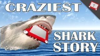 The Craziest Shark Story Ever Etched