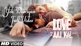 Yeh Dooriyan Full Video (LYRICS)   Love Aaj Kal 2020