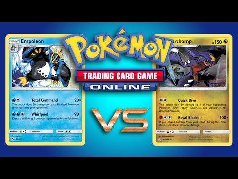 Empoleon vs Random Decks on Pokemon TCG Online w/ Riley Hulbert