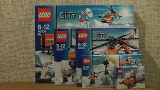 preview picture of video 'NOWOŚCI SIERPIEŃ 2014 LEGO CITY BADACZE ARKTYKI'