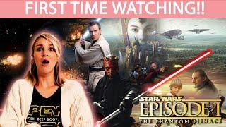 STAR WARS EPISODE I: THE PHANTOM MENACE (1999) | FIRST TIME WATCHING | MOVIE REACTION