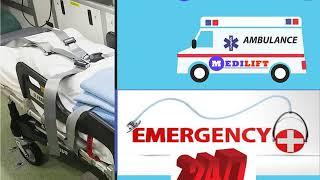 Advanced Medical Facility Road Ambulance Service in Darbhanga