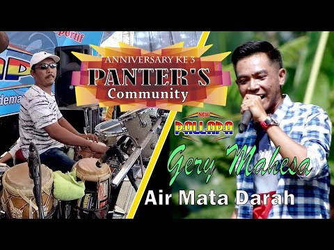 Gery Mahesa AIR MATA DARAH New Pallapa Anniversary Ke 3 PANTER'S Community