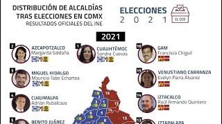El IECM entregó las constancias de mayoría a los ganadores a alcaldes