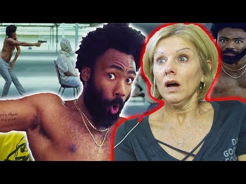 Mom REACTS to Childish Gambino - This Is America (Official Video) (видео)