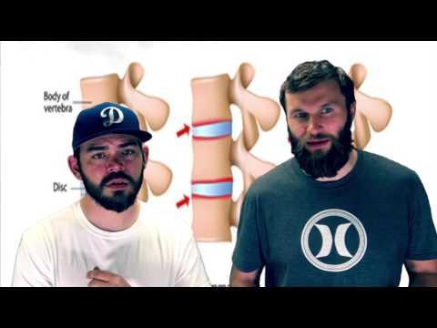 Serie di spina dorsale di esercizi reparto cervicale