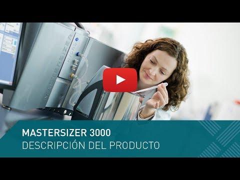 Mastersizer 3000: Análisis de tamaño de partícula por difracción laser
