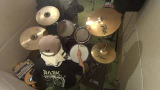 Dizzy Mizz Lizzy - Drum Cover - Waterline - Live ver