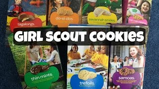 Tasting Girl Scout Cookies - emmymadeinjapan