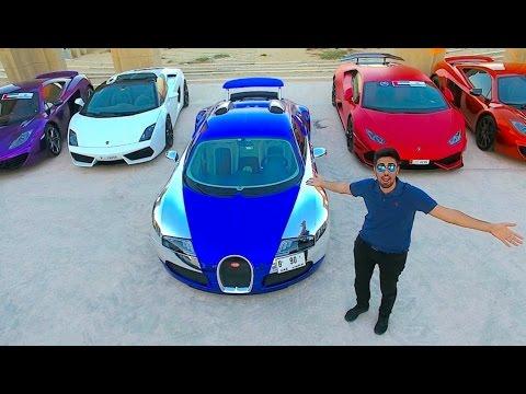 Ngày Dubai 'điên cuồng' cùng siêu xe