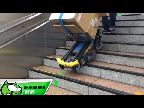 A Robotic Dolly Means You'll Never Carry Anything Up Stairs Again