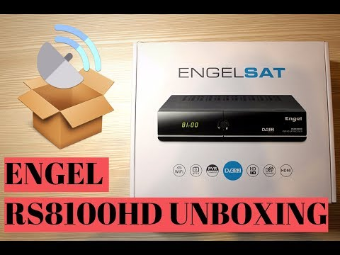 Unboxing del Engel RS8100HD, ¿mejor receptor de satélite? #liveadrian #engel #satelite #tv