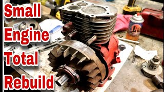 Small Engine Total Rebuild - with Taryl