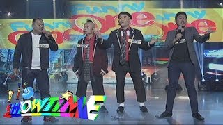 It's Showtime Funny One: Winer, Dos Korambos And Sergio Perform Their Funny Stint