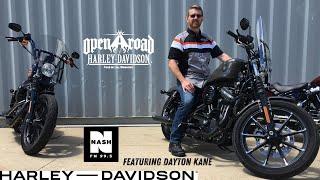 Dayton Kane takes a Test Ride with Open Road Harley-Davidson
