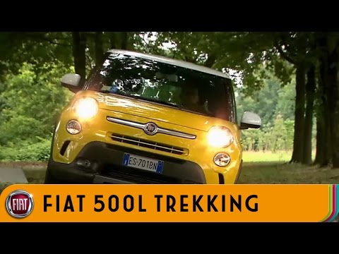 Fiat  500 L Trekking Хетчбек класса B - рекламное видео 3