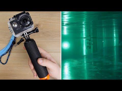 Apeman 4k (A80) Action Cam // Unterwasser Aufnahmen im Tropical Island 2018 // DEUTSCH